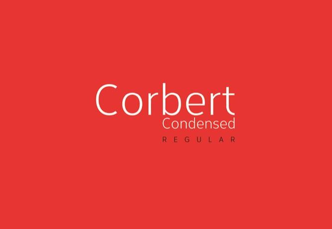 CORBERT CONDENSED REGULAR