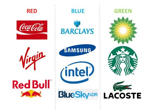 психология цвета логотипа