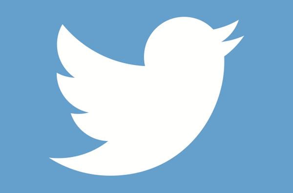 активный логотип твиттер