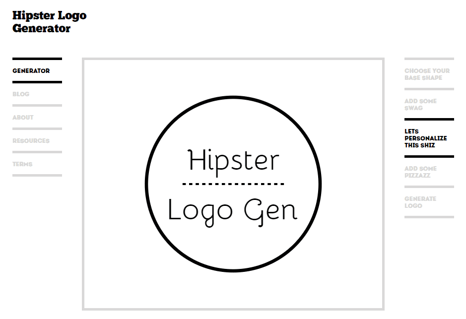 hipsterlogo