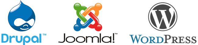 WordPress, Joomla и Drupal