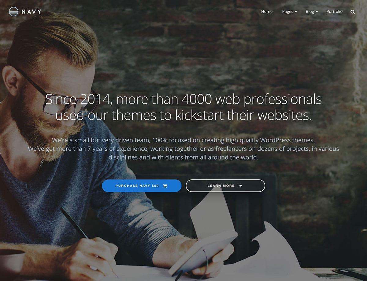 Navy-Business-WordPress-Theme