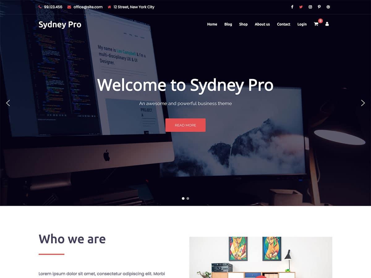 sydney-pro-wordpress-business-theme