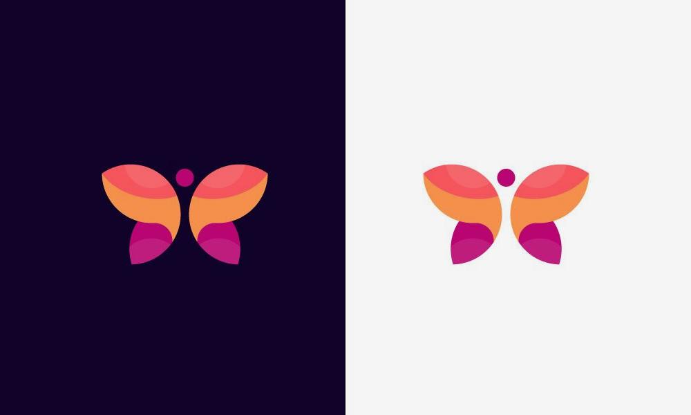 Логотип Бабочка