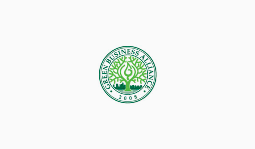 Логотип Green business Alliance
