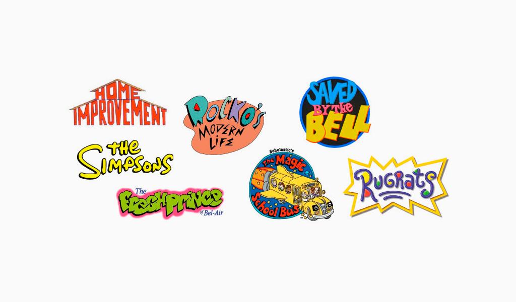 Логотипы 90-х