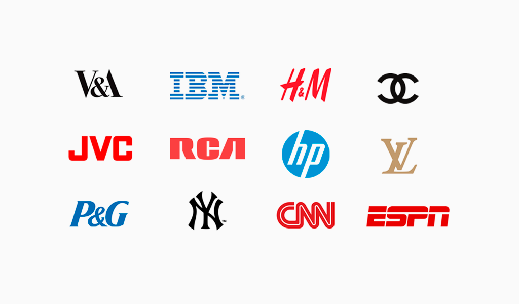 Логотипы надписи
