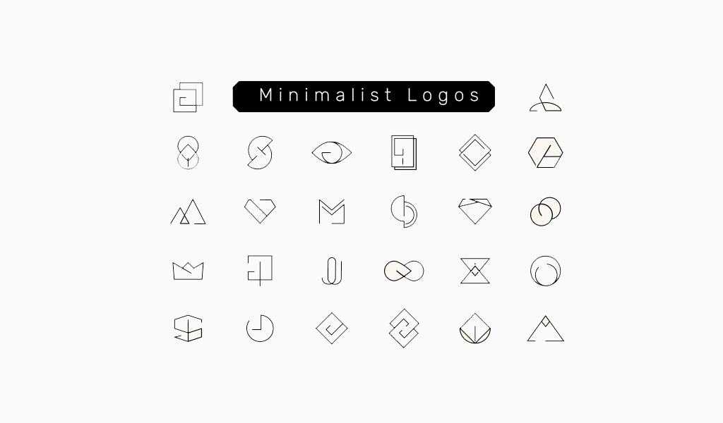 Миималистичные логотипы