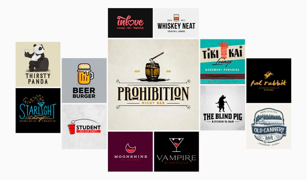 Логотипы бара