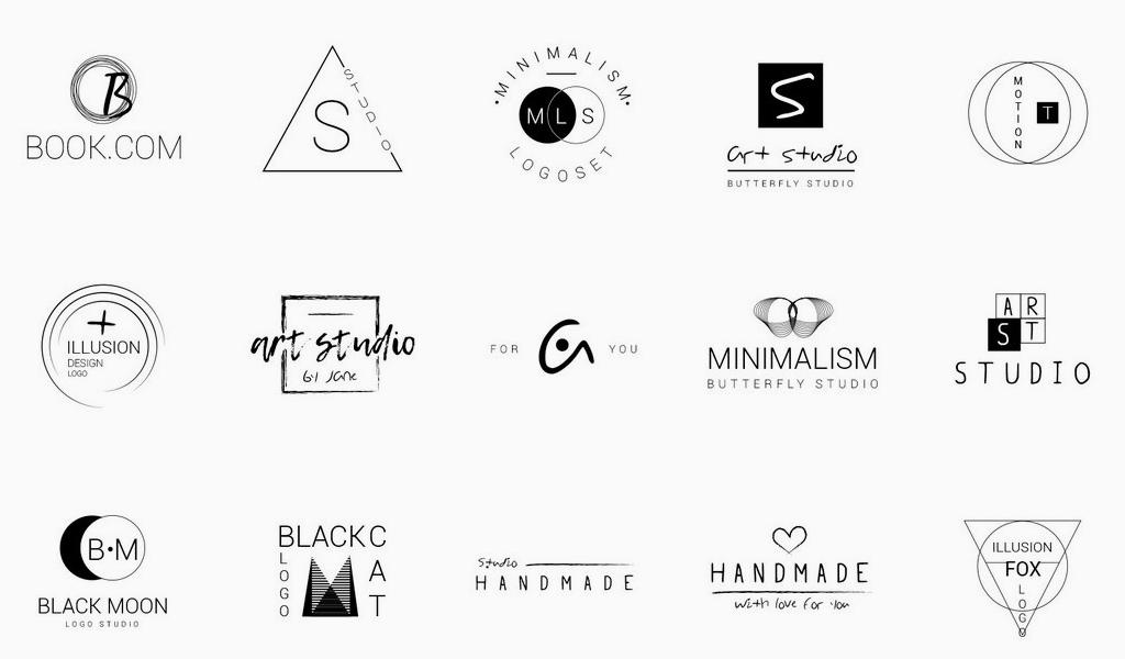 Минималистичные логотипы